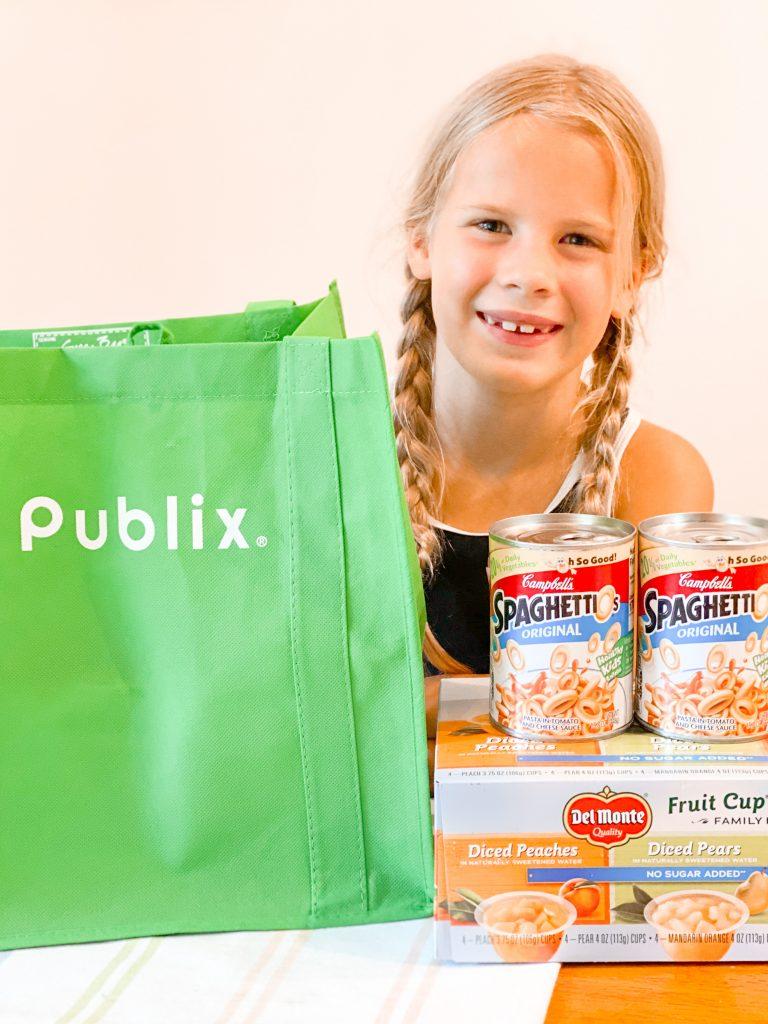 storm season essentials at Publix