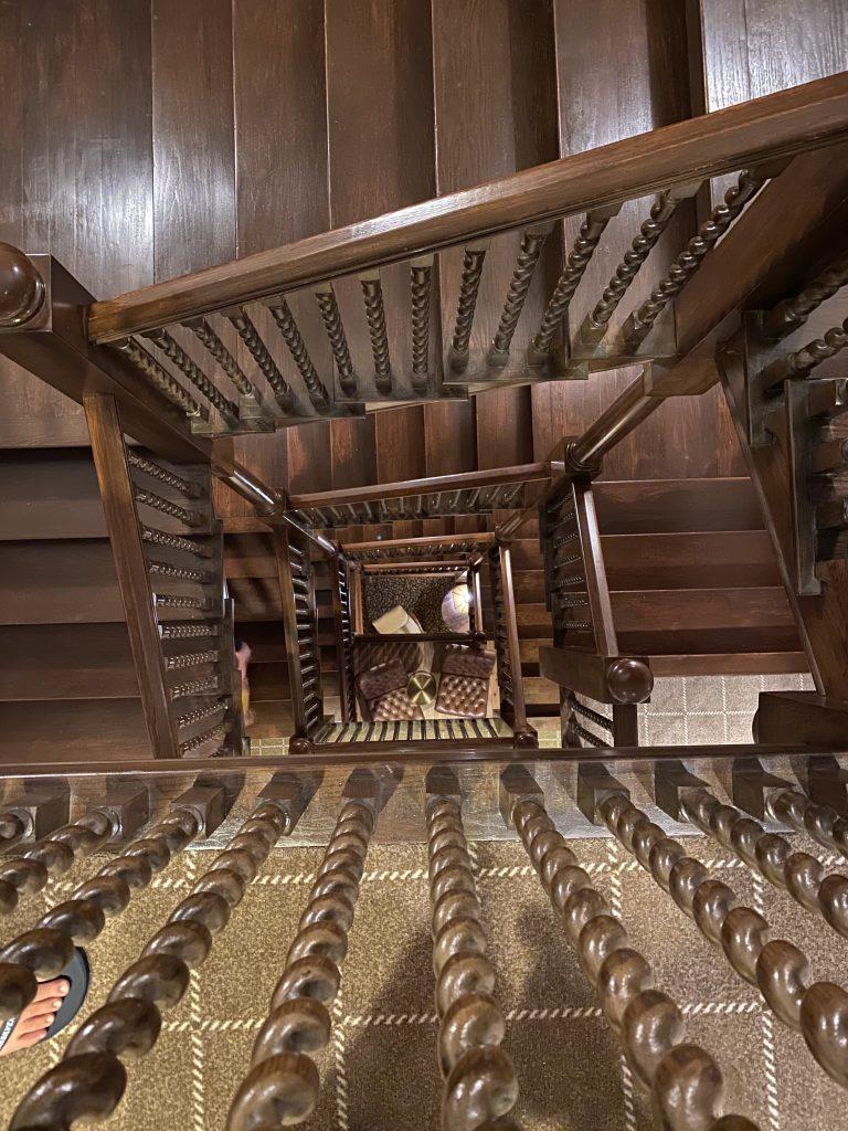 Jekyll Island Club stairs