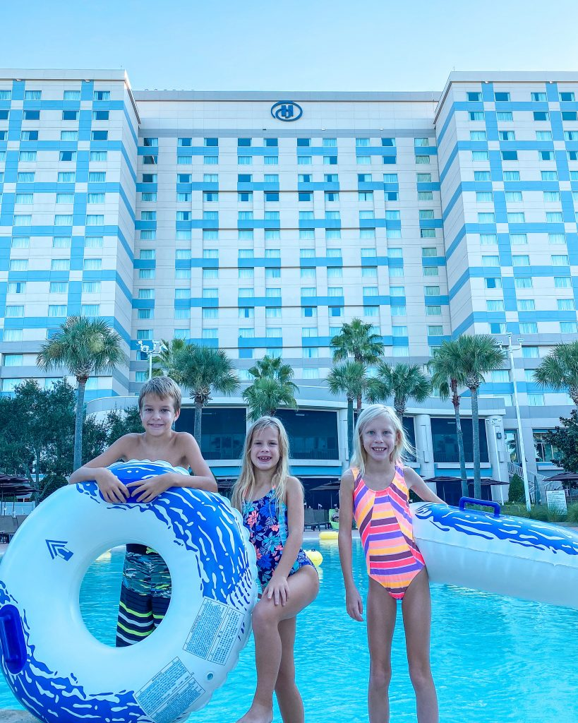Florida staycation Hilton Orlando