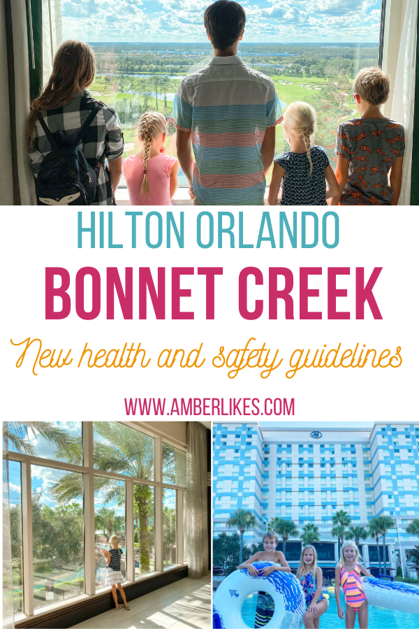 Hilton Orlando Bonnet Creek Florida staycation