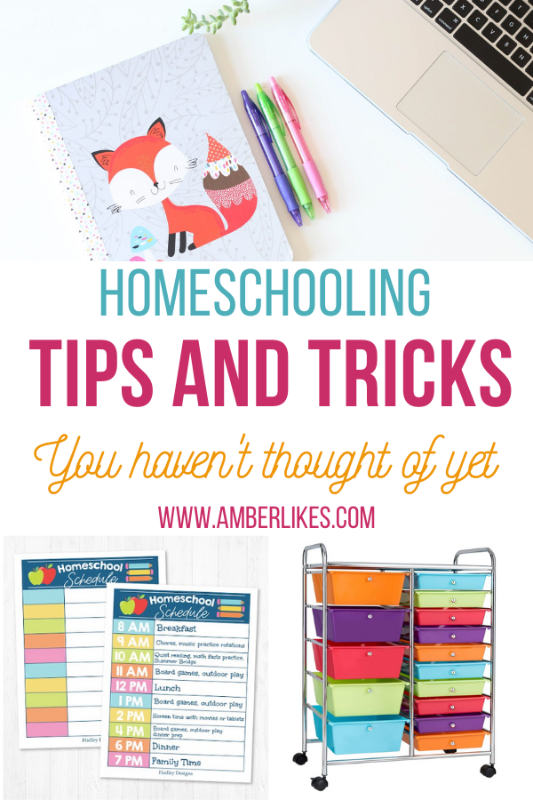 Homeschooling tips and tricks