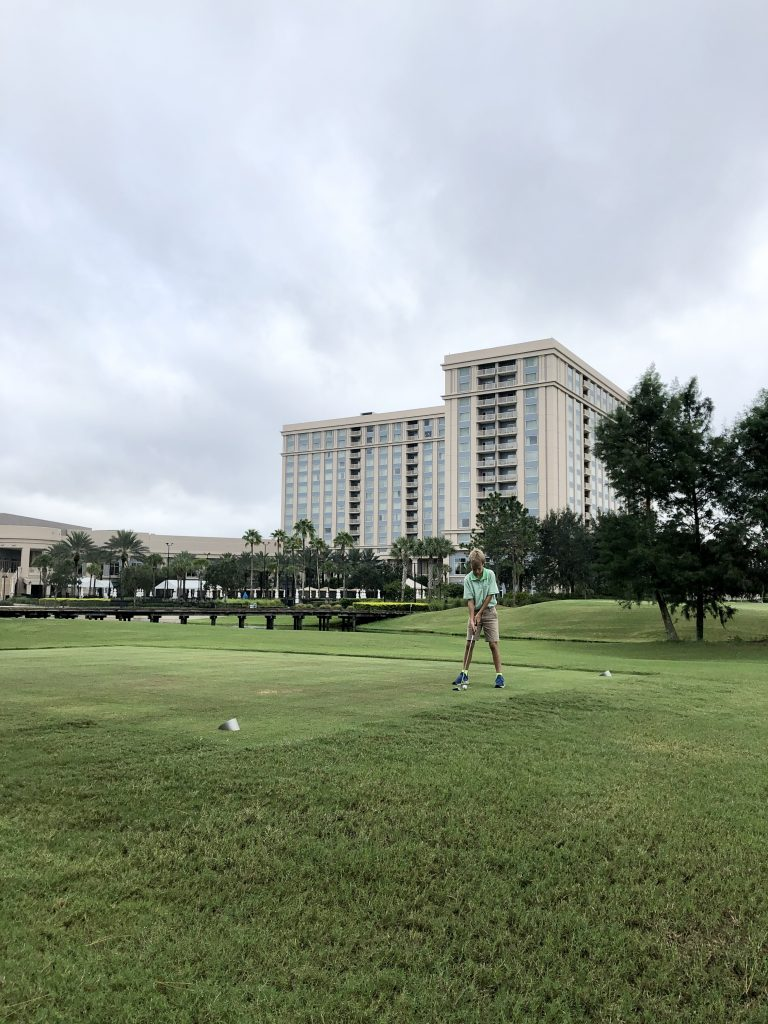 Hilton Orlando golf