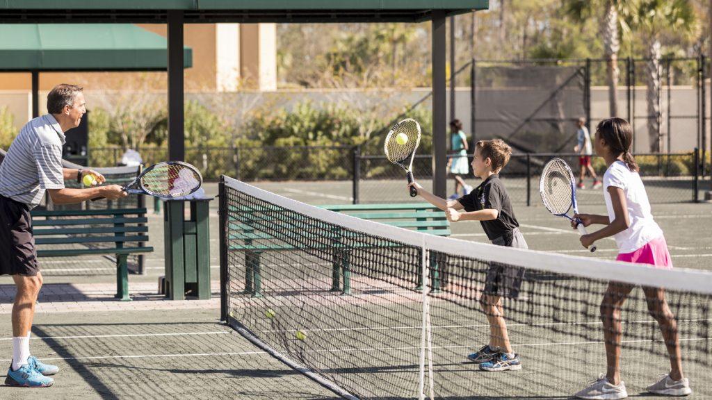 Orlando Four Seasons tennis lessons