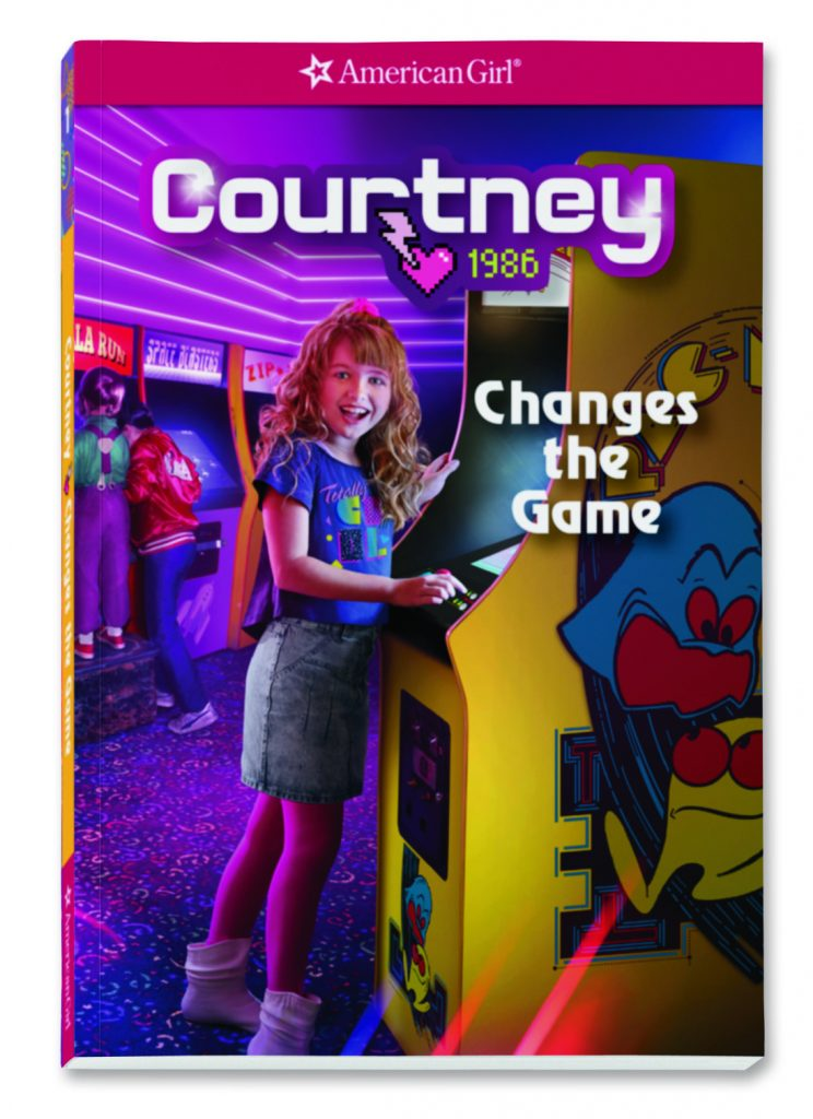 American Girl Courtney book