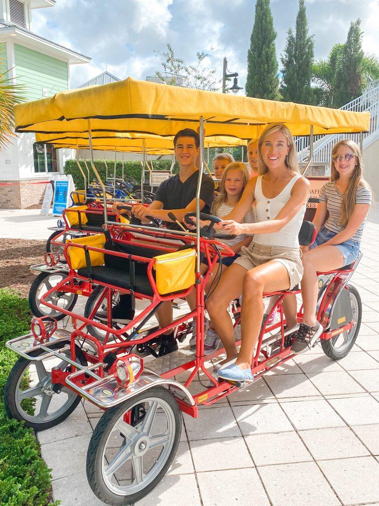 Surrey  bike rental Encore Resort