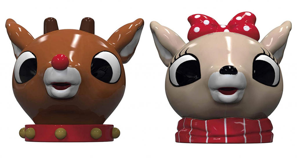 rudolph salt and pepper shakers