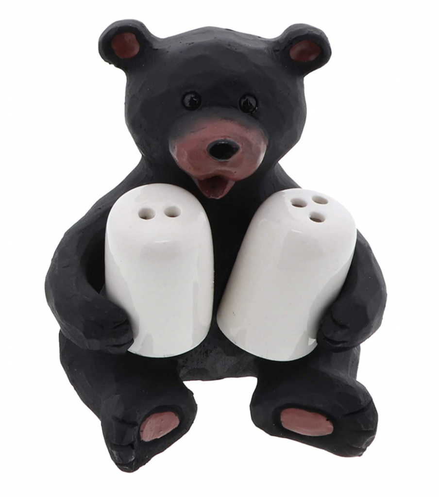 unique salt and pepper shakers bear