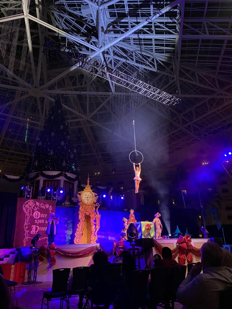 Cirque Dreams Unwrapped Gaylord Palms