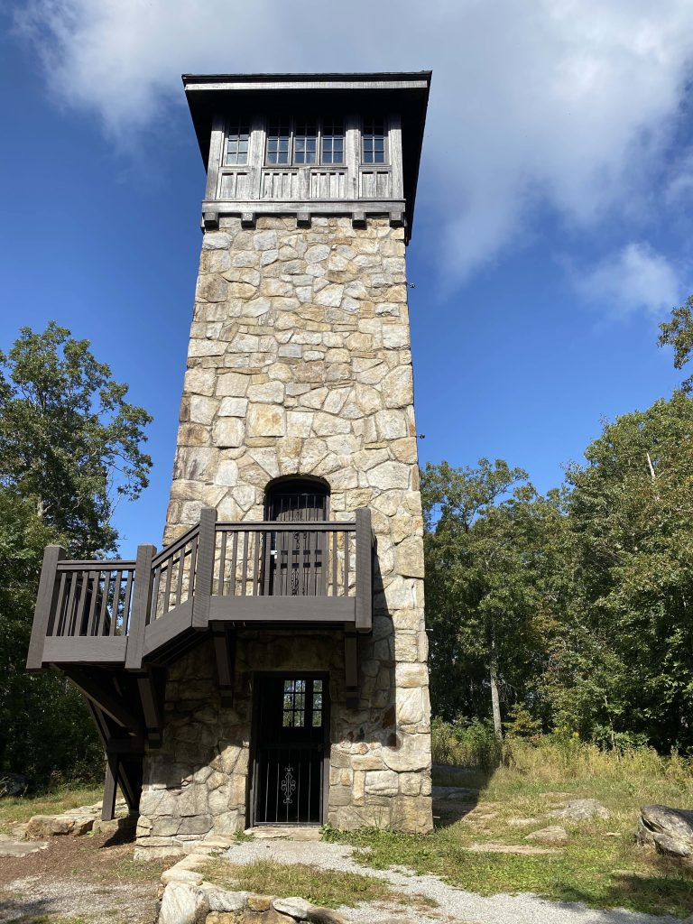 Fort Mountain State Park stone tower