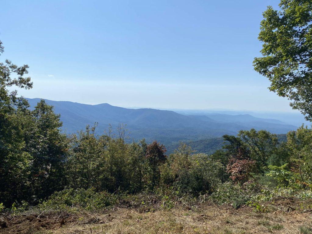 Gahuti Trail overlook