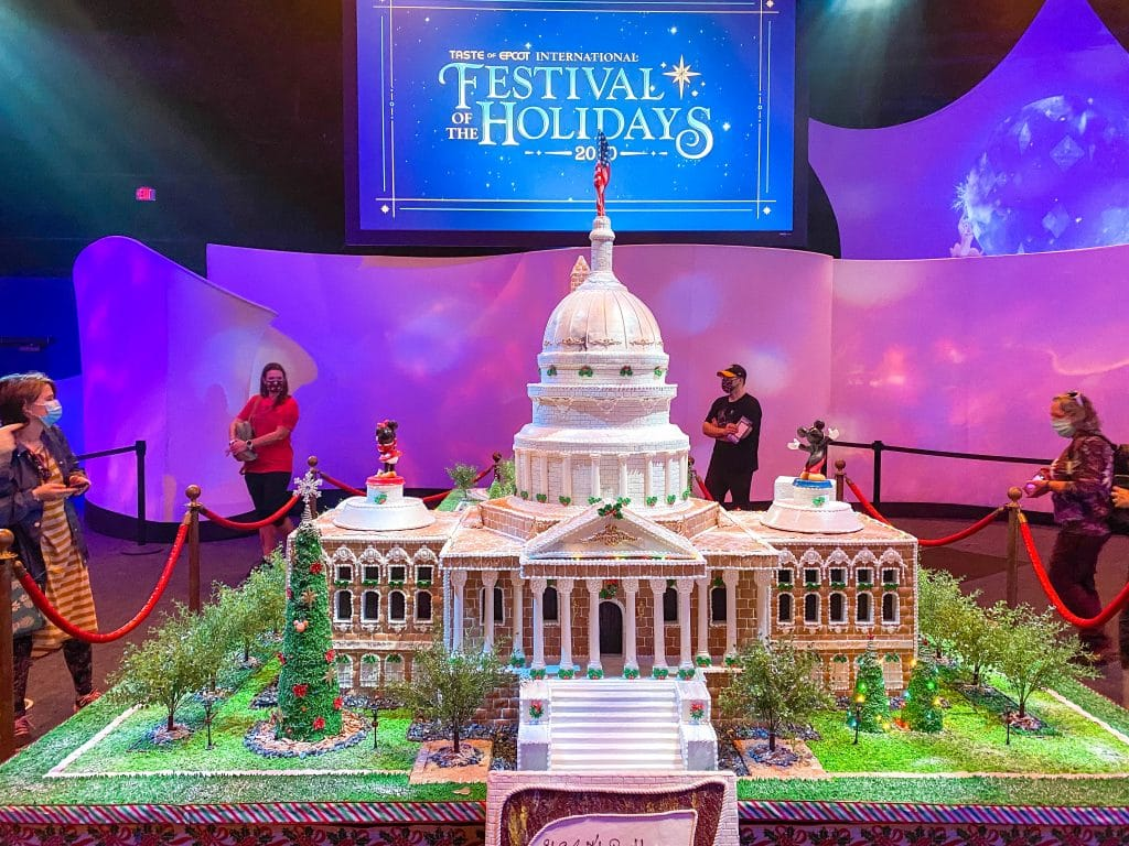 Epcot International Festival of the Holidays Gingerbread Capital City