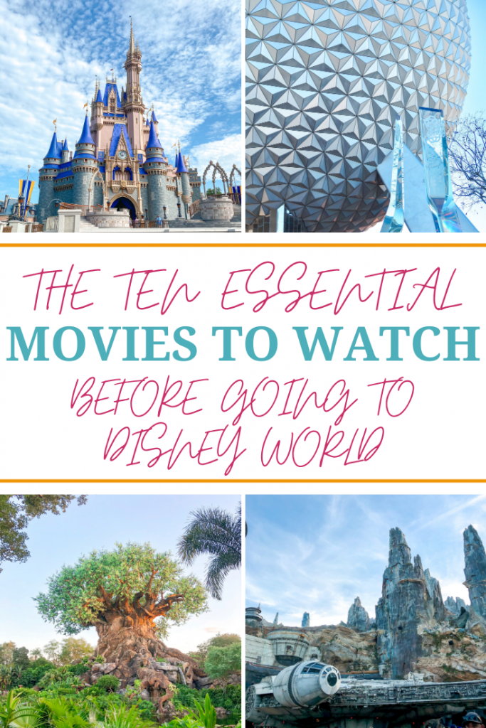 Movies to watch before going to Disney World
