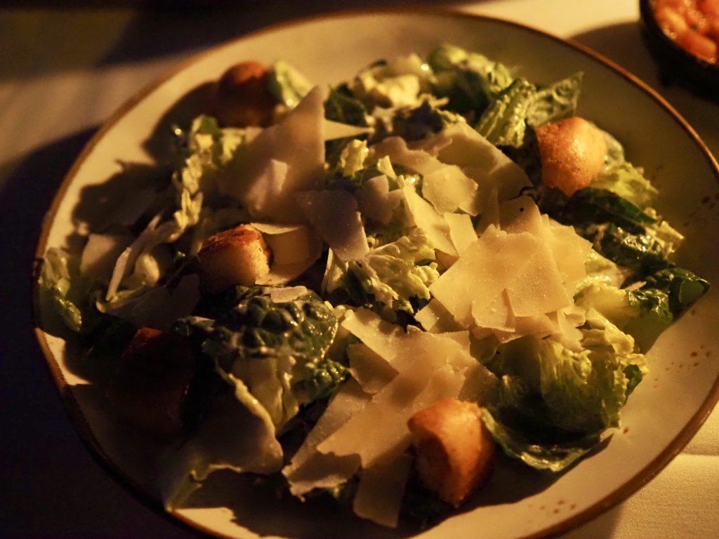 Caesar Salad at San Angel Inn