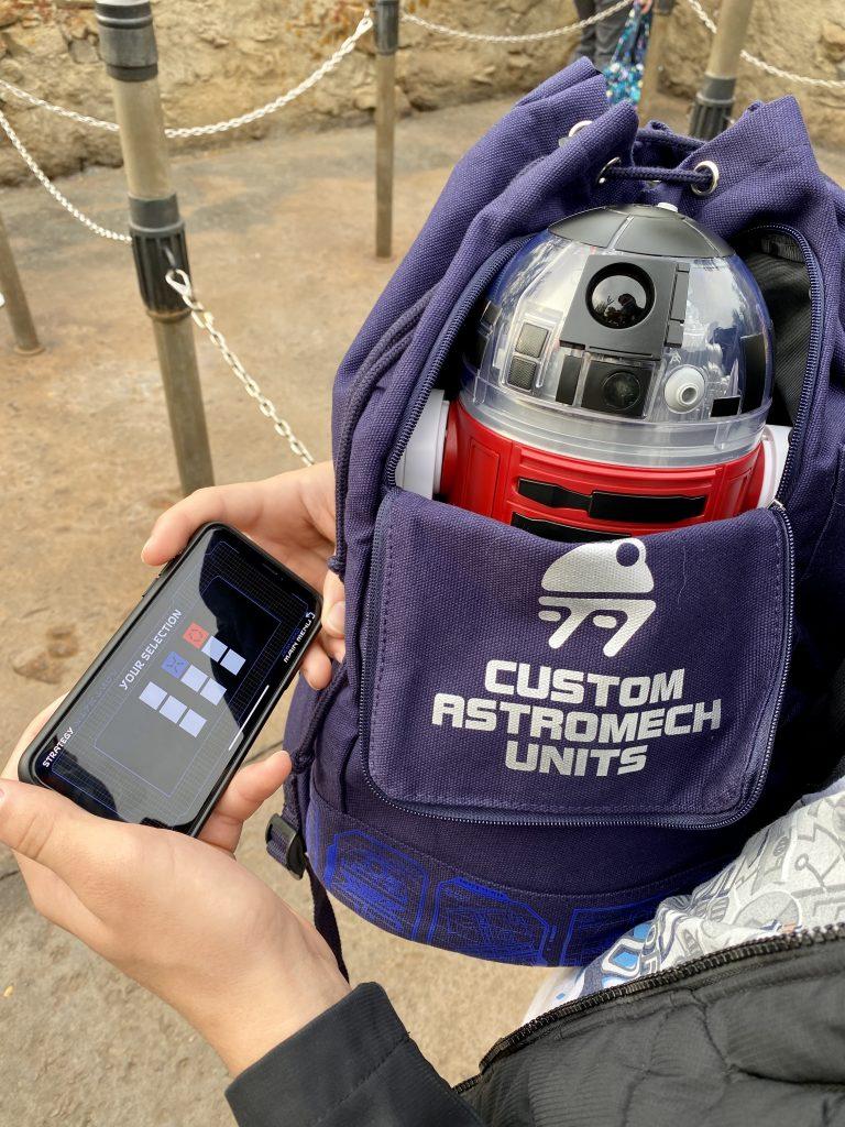 droid depot options at Disney World