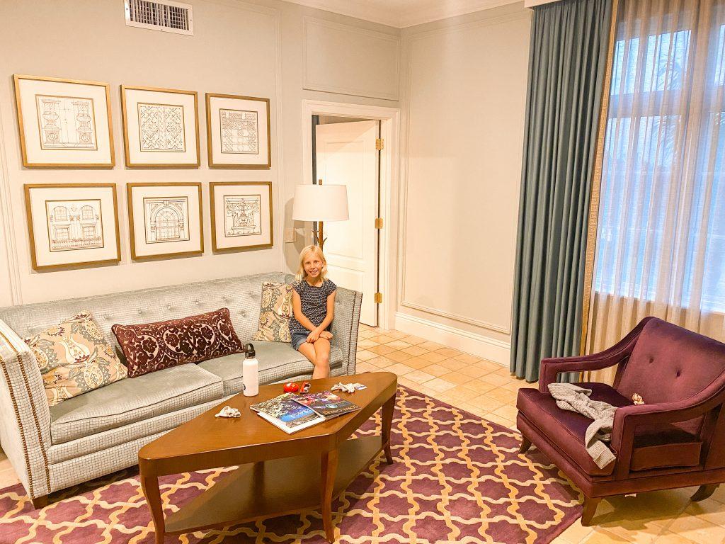 The Biltmore Hotel Miami sitting area