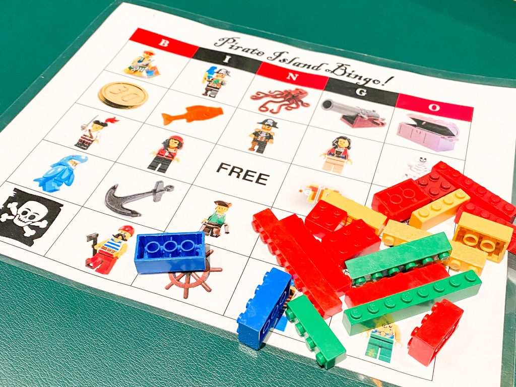 Legoland hotel bingo