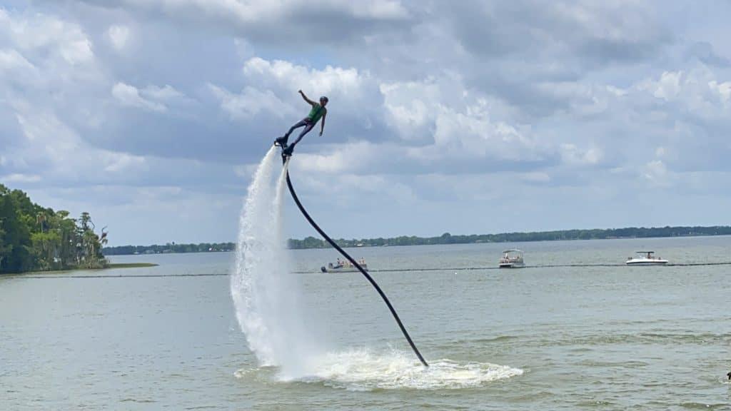 Bricksbeards watersports stunt show