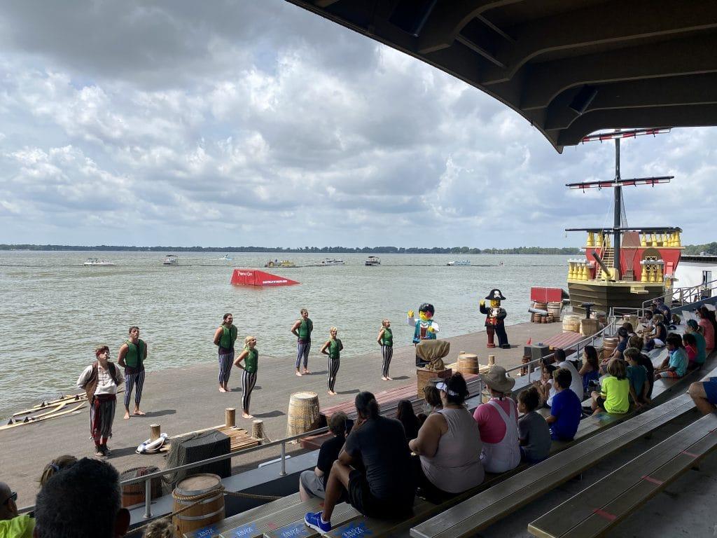 Brickbeards watersports stunt show