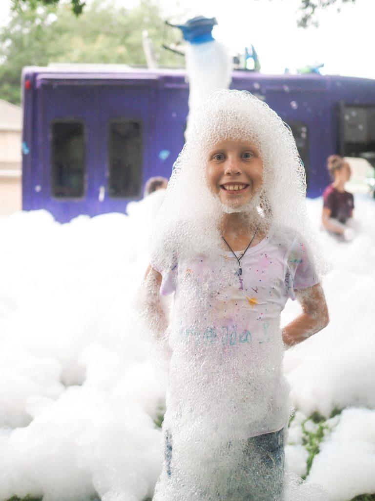 bubble truck