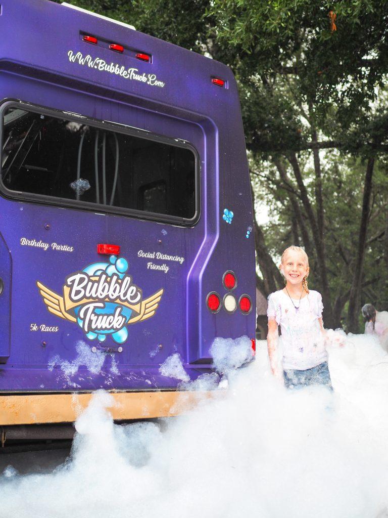 bubble truck Orlando