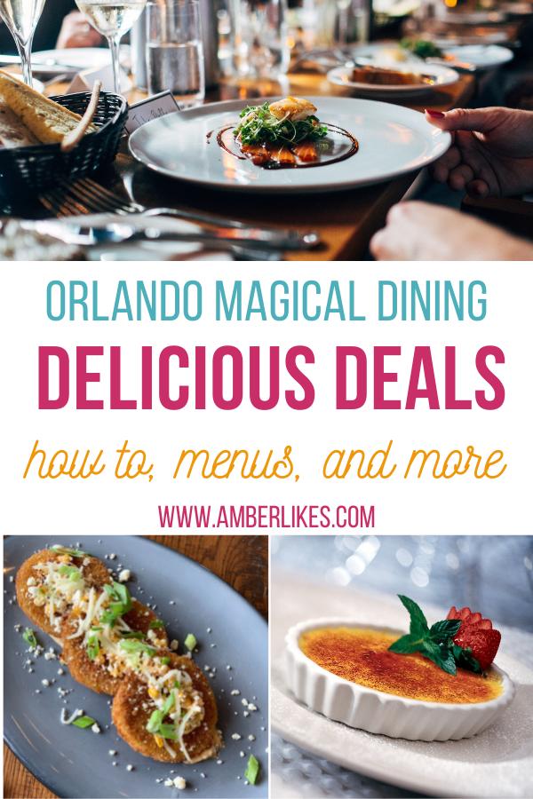 Orlando magical dining