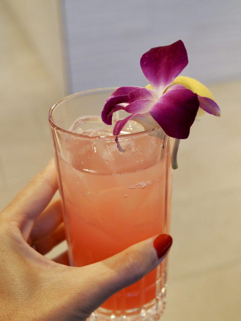 hibiscus lemonade at illume