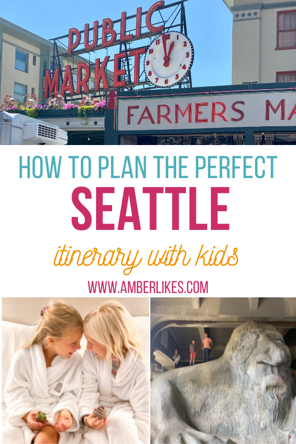 3 day Itinerary to Seattle