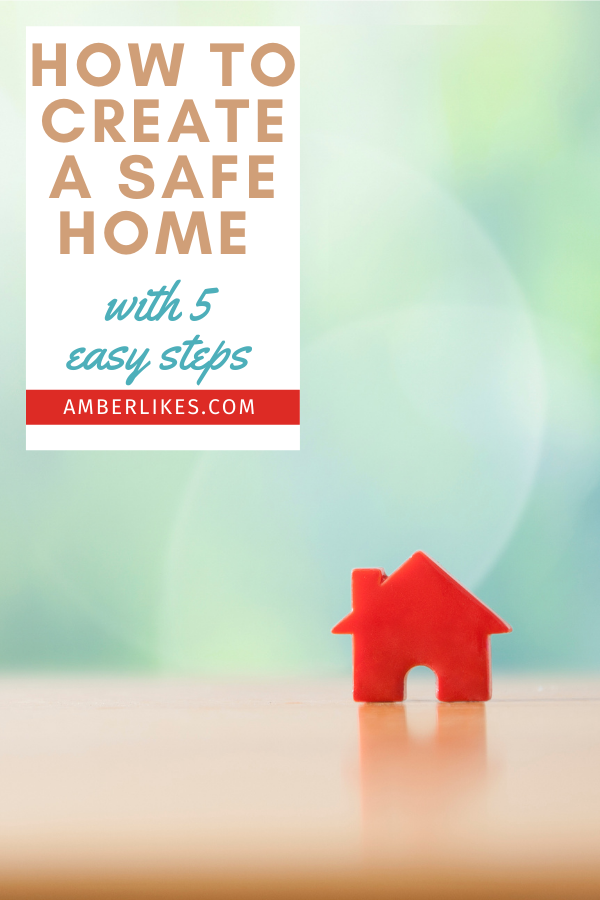 safety habits at home