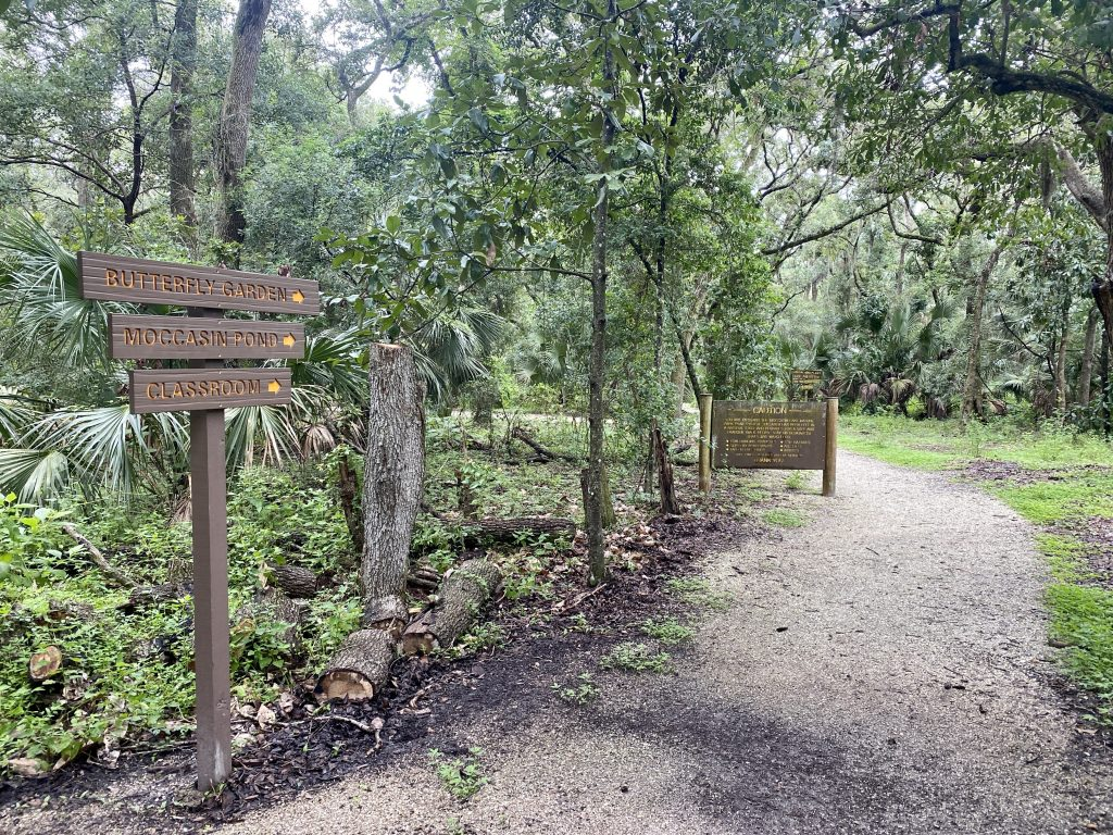 Moccasin Lake Nature Park trail guide