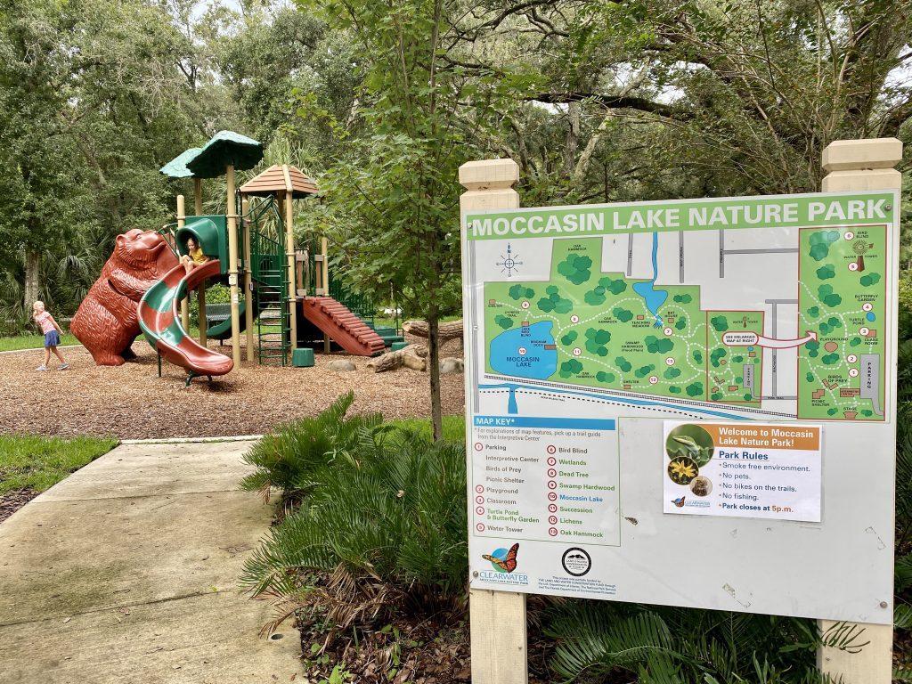 Moccasin Lake Nature Park playground