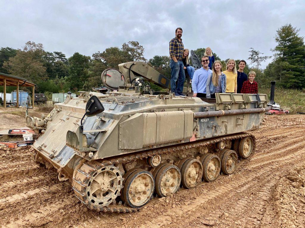 drive a tank in blue ridge